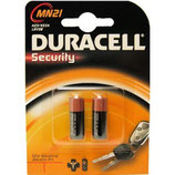 Duracell Security MN21 size 2 pack