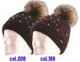 Nana Fur Crystal Eisbär Mütze