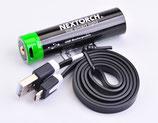 Akku 18650 USB Lithium-Ion (Li-Ion) 3.6V 3.400mAh