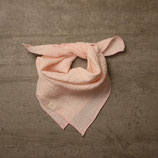 Midi Musselintuch quadratisch, rosa