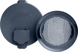 Traeger Filter und Deckel für Palletbehälter in Metall