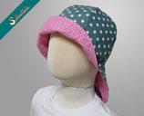 SONNENHUT NECK - pink hook mat green star