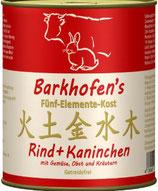 Barkhofen´s Fünf-Elemente-Kost Rind & Kaninchen