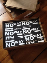 No Way - Sticker_v1 blk
