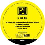 "Various – Jack Wax Presents ""Flat Acid Compilation"" Volume 1"