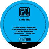 "Various – Jack Wax Presents ""Flat Acid Compilation"" Volume 2"