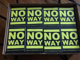No Way - Sticker NW003YEL02
