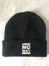 No Way Beanie - Classic Logo - black