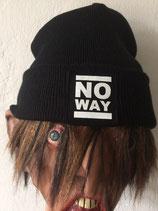 No Way - Beanie - Logo - black