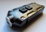 Schlüsselbundleuchte TIP/CRI, bis 53 Metern Leuchtweite inkl. USB-Kabel