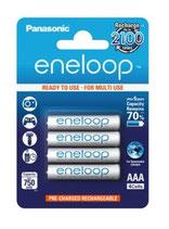 eneloop Micro Akku AAA 750 mAh 4er Set -neueste Generation-
