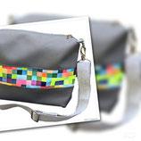 """Tasche""""Tilly"""" Farbe Grau/Bunt"""