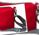 "Tasche""Tilly"" Farbe Rot"