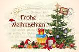 Postkarte Weihnachten Variante 1