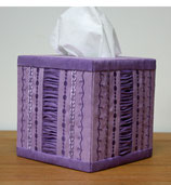 Fabric Covered Tissue Box