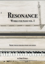 "Notenbuch ""Resonance - Works for piano vol. I"""