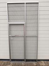 Flächenelement mit kleiner Tür 100 cm Breite und 204,8 cm Höhe