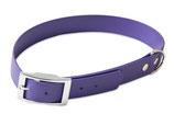 BioThane Halsband Basic 25mm violett