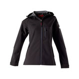 "Owney Softshell-Jacke Damen ""Cerro"" schwarz"