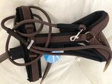 Passende Leine zu Annyx Brustgeschirr Safety schwarz/braun