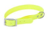 BioThane Halsband Basic 25mm neon gelb
