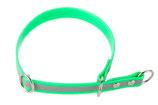 BioThane Halsband Sport 25mm reflekt hellgrün
