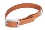 BioThane Halsband Basic 13mm hellbraun