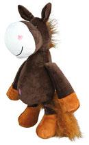 Trixie Pferd, mit Quitschgeräusch, Plüsch, 30 cm
