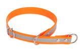 BioThane Halsband Sport 25mm reflekt orange