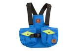 Kinder Dummyweste Trainer blau/neongrün