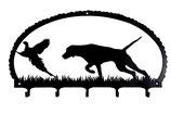 Schlüsselbrett - Kurzhaariger Vorstehhund - anzeigend