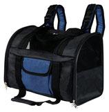 Trixie Rucksack Connor, 42 × 29 × 21 cm, schwarz/blau