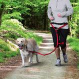 Trixie Bauchgurt mit Leine für mittelgroße und große Hunde 12766