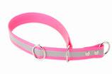 BioThane Halsband Sport 19mm reflekt rosa