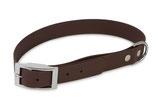 BioThane Halsband Basic 13mm braun