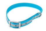 BioThane Halsband Basic 19mm reflekt türkis