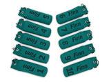 Set 10 Standard Dummies 500g nummeriert & beschriftet 1-10