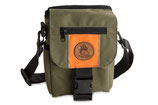 Kinder Mini Dummytasche DeLuxe khaki/orange