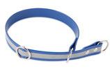 BioThane Halsband Sport 25mm reflekt blau