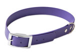 BioThane Halsband Basic 19mm violett