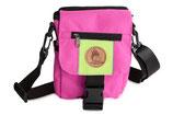 Kinder Mini Dummytasche DeLuxe pink/neongrün
