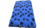 Happybed zweifarbig blau mit schwarzen Pfoten
