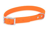BioThane Halsband Basic 25mm neon orange