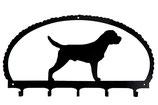 Schlüsselbrett - Border Terrier