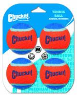 Chuckit Tennis Balls mittel 6,5cm 4 Stk.