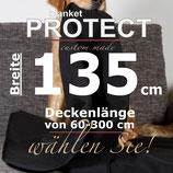 Hunde Decke Indoor 135cm Breit