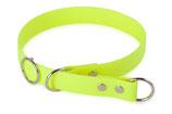 BioThane Halsband Sport 25mm neon gelb