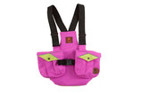 Kinder Dummyweste Trainer pink/neongrün