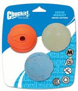 Chuckit Medley Balls mittel 6,5cm Set 3 Stk.