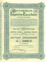 Te koop: Origineel aandeel Imperia-Excelsior.
